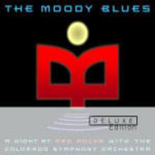 A Night at Red Rocks - CD Audio di Moody Blues