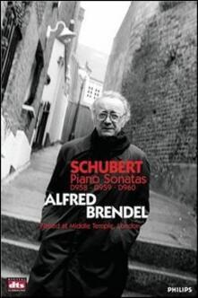 Franz Schubert. Piano Sonatas - DVD