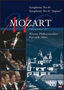 Wolfgang Amadeus Mozart. Symphonies 40 & 41 - DVD