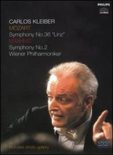 Johannes Brahms. Symphony No. 2. Wolfgang Amadeus Mozart Symphony No. 36 di Horant H. Hohlfeld - DVD