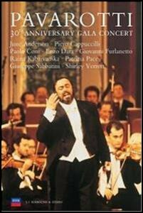 Luciano Pavarotti. 30th Anniversary Gala Concert - DVD
