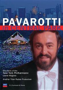 Luciano Pavarotti. In Central Park - DVD