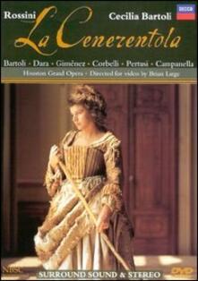 Gioacchino Rossini. La cenerentola (DVD) - DVD di Cecilia Bartoli,Enzo Dara,Gioachino Rossini