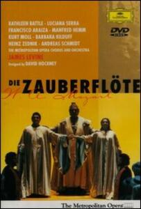 Wolfgang Amadeus Mozart. Il Flauto Magico di Brian Large - DVD