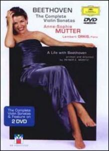 Anne-Sophie Mutter. Beethoven. The Complete Violin Sonatas (2 DVD) - DVD