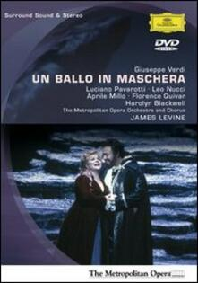 Giuseppe Verdi. Un ballo in maschera di Brian Large - DVD