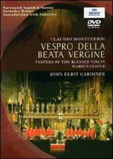 Claudio Monteverdi. Vespro della Beata Vergine - DVD