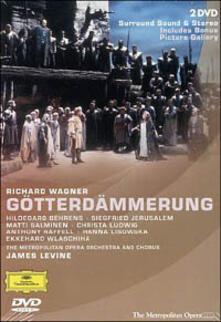 Richard Wagner. Il crepuscolo degli Dei (2 DVD) - DVD di Richard Wagner,James Levine