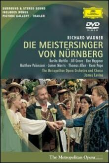 Richard Wagner. I maestri cantori di Norimberga (2 DVD) - DVD di Richard Wagner,James Levine,Ben Heppner,Karita Mattila