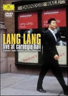 Lang Lang. Live At Carnegie Hall (DVD) - DVD di Lang Lang