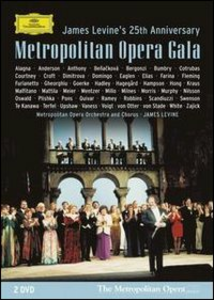 Film Metropolitan Opera Gala. James Levine's 25th Anniversary