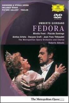 Umberto Giordano. Fedora di Brian Large - DVD