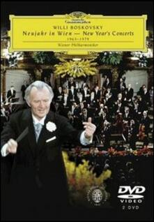 Willi Boskovsky. New Year's Concert 1963 - 1979 (2 DVD) - DVD di Wiener Philharmoniker,Willi Boskovsky