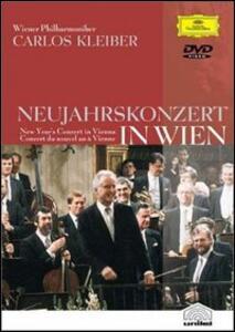 Carlos Kleiber. New Year's Concert in Vienna 1989 - DVD