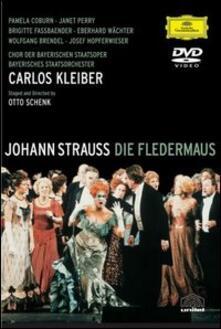 Johann Strauss. Il Pipistrello (DVD) - DVD di Johann Strauss,Brigitte Fassbaender,Pamela Coburn,Carlos Kleiber
