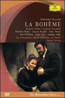 Giacomo Puccini. La Boheme (DVD) - DVD di Luciano Pavarotti,Renata Scotto,Giacomo Puccini,James Levine
