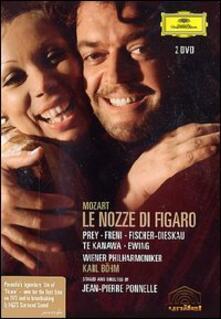Wolfgang Amadeus Mozart. Le nozze di Figaro (2 DVD) - DVD di Wolfgang Amadeus Mozart,Dietrich Fischer-Dieskau