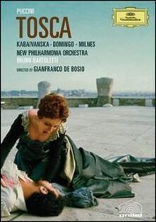 Giacomo Puccini. Tosca di Gianfranco De Bosio - DVD