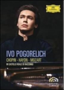 Ivo Pogorelich in Castello Reale di Racconigi di Horant H. Hohlfeld - DVD