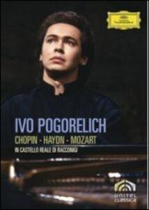 Film Ivo Pogorelich in Castello Reale di Racconigi Horant H. Hohlfeld