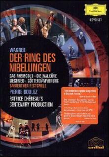 Richard Wagner. Der Ring des Nibelungen. L'Anello del Nibelungo (8 DVD) - DVD di Pierre Boulez,Richard Wagner