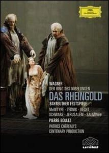 Film Richard Wagner. Das Rheingold. L'oro del Reno