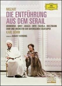 Wolfgang Amadeus Mozart. Il ratto del Serraglio. Die Entführung aus dem Serail di August Everding - DVD