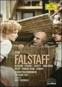 Film Giuseppe Verdi. Falstaff Gotz Friedrich