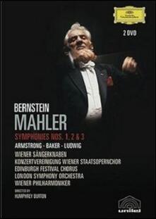 Gustav Mahler. Sinfonia n. 1, 2, 3. Leonard Bernstein (2 DVD) - DVD di Leonard Bernstein,Gustav Mahler,Wiener Philharmoniker