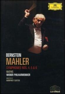 Gustav Mahler. Sinfonia n. 4, 5 e 6. Leonard Bernstein (2 DVD) di Humphrey Burton - DVD