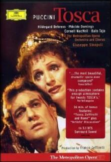 Giacomo Puccini. Tosca (DVD) - DVD di Placido Domingo,Hildegard Behrens,Giacomo Puccini