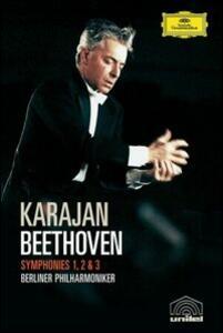 Ludwig Van Beethoven. Symphonies 1, 2 & 3 - DVD