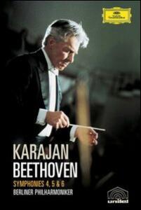 Ludwig Van Beethoven. Symphonies 4, 5 & 6 - DVD