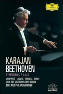 Ludwig Van Beethoven. Symphonies 7, 8 & 9 - DVD