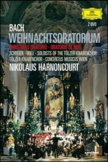 Johann Sebastian Bach. Weihnachts-Oratorium. Oratorio di Natale (DVD) - DVD di Johann Sebastian Bach,Nikolaus Harnoncourt,Peter Schreier,Robert Holl