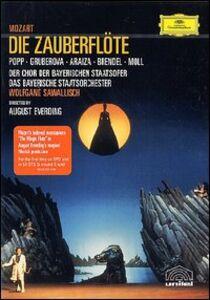 Film Wolfgang Amadeus Mozart. Il flauto magico. Die Zauberflote August Everding