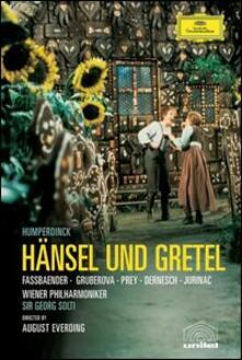 Engelbert Humperdinck. Hänsel e Gretel - DVD di Brigitte Fassbaender