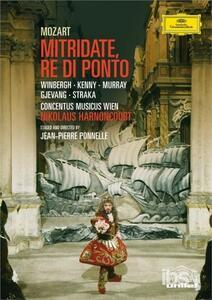 Wolfgang Amadeus Mozart. Mitridate, re di Ponto - DVD