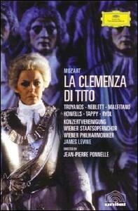 Wolfgang Amadeus Mozart. La clemenza di Tito di Jean-Pierre Ponnelle - DVD