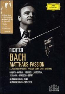 Johann Sebastian Bach. Matthäus-Passion. Passione di Matteo (2 DVD) - DVD