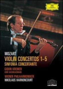 Wolfgang Amadeus Mozart. Violin Concertos 1- 6 (2 DVD) di Klaus Lindemann - DVD