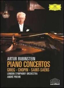 Artur Rubinstein. Concerti per pianoforte - DVD