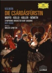 Emmerich Kalman. Die Csárdásfürstin di Miklos Szinetar - DVD