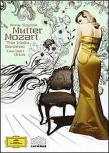 Anne-Sophie Mutter. Mozart. The Violin Sonatas (2 DVD) - DVD