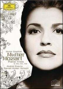 Anne-Sophie Mutter. Mozart. Piano Trios - DVD