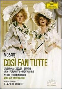 Wolfgang Amadeus Mozart. Così fan tutte (2 DVD) di Jean-Pierre Ponnelle - DVD