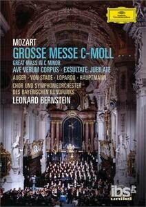 Wolfgang Amadeus Mozart. Messa in Do minore. Grosse Messe in C-Moll - DVD