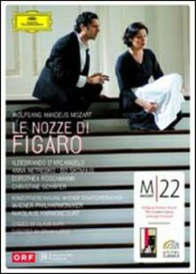 Wolfgang Amadeus Mozart. Le nozze di Figaro (2 DVD) di Claus Guth,Brian Large - DVD