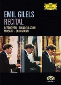 Emil Gilels. Recital - DVD