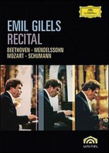 Film Emil Gilels. Recital